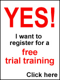 Test the training for stutterers free of charge: Register for a trial and put a stop to stuttering